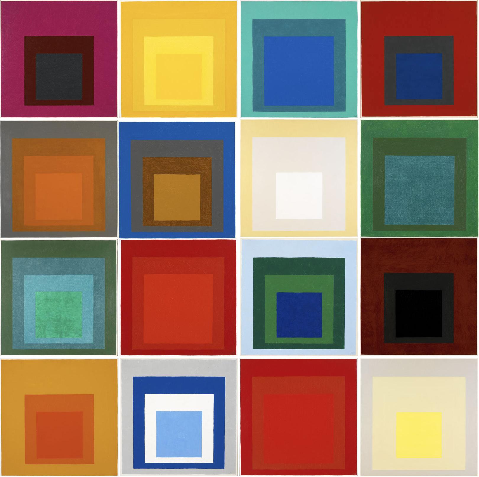 Albers, Omaggio al quadrato (dal 1949)