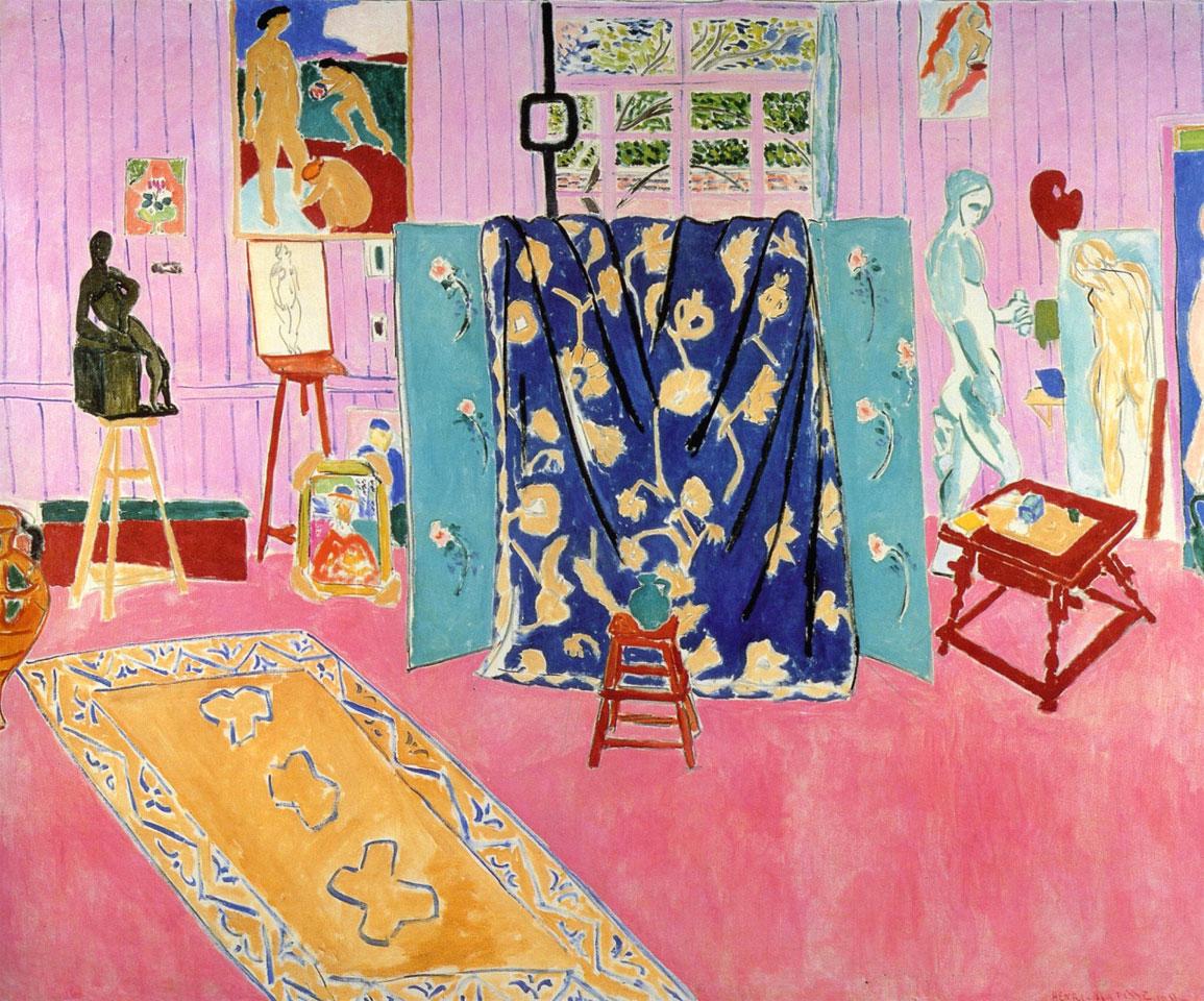 Matisse, Lo studio rosa (1911)