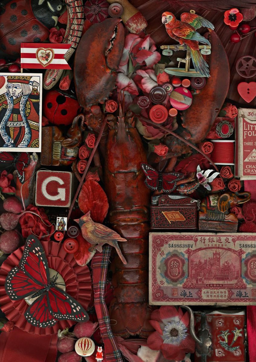 Claire Rosen, Nostalgia - a study in color, Still life in red
