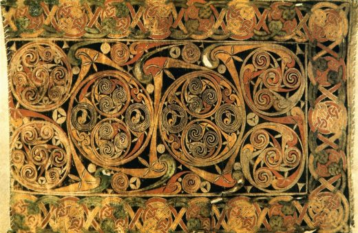 Evangeliario di Durrow, carpet page (680)