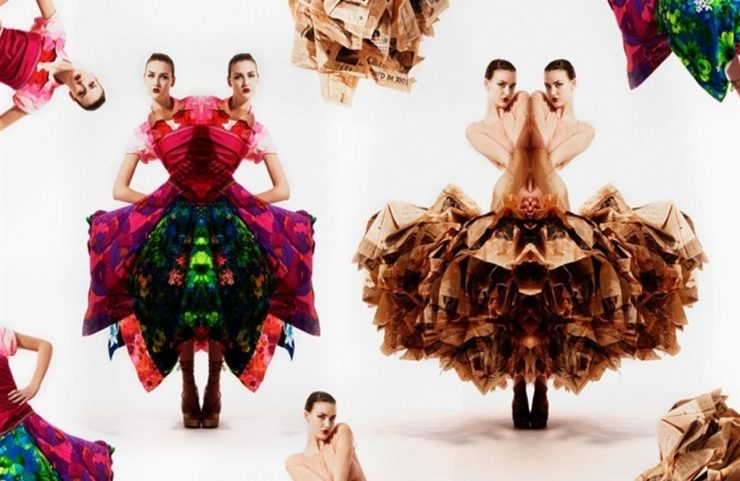 Gary Harvey, Eco Couture by Vogue