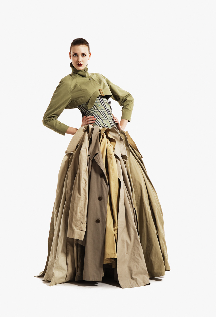 Gary Harvey, Trench Dress, Eco Couture