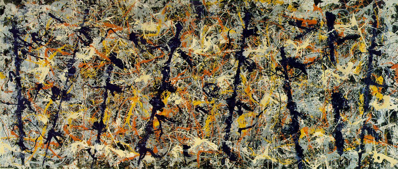 Jackson Pollock, Pali azzurri (1953)
