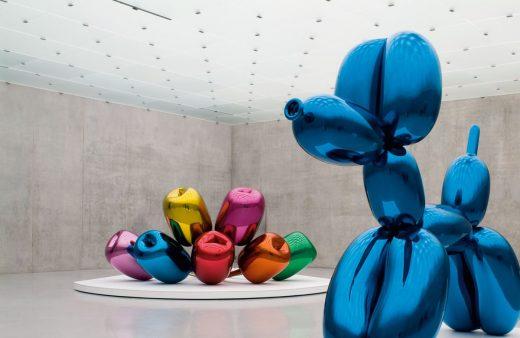 Jeff Koons, Balloon Dog (1994-2000) - Tulips (1995-2004)