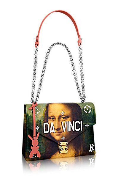Jeff Koons, Collezione Masters per Louis Vuitton, Leonardo da Vinci (2017)