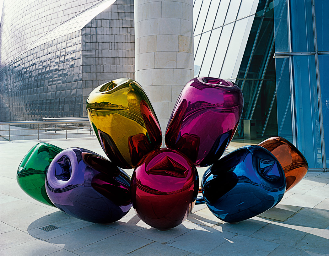 Jeff Koons, Tulips, Guggenheim Museum, Bilbao (1995)