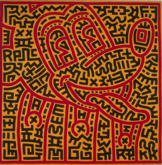 Keith Haring, Untitled (1983)