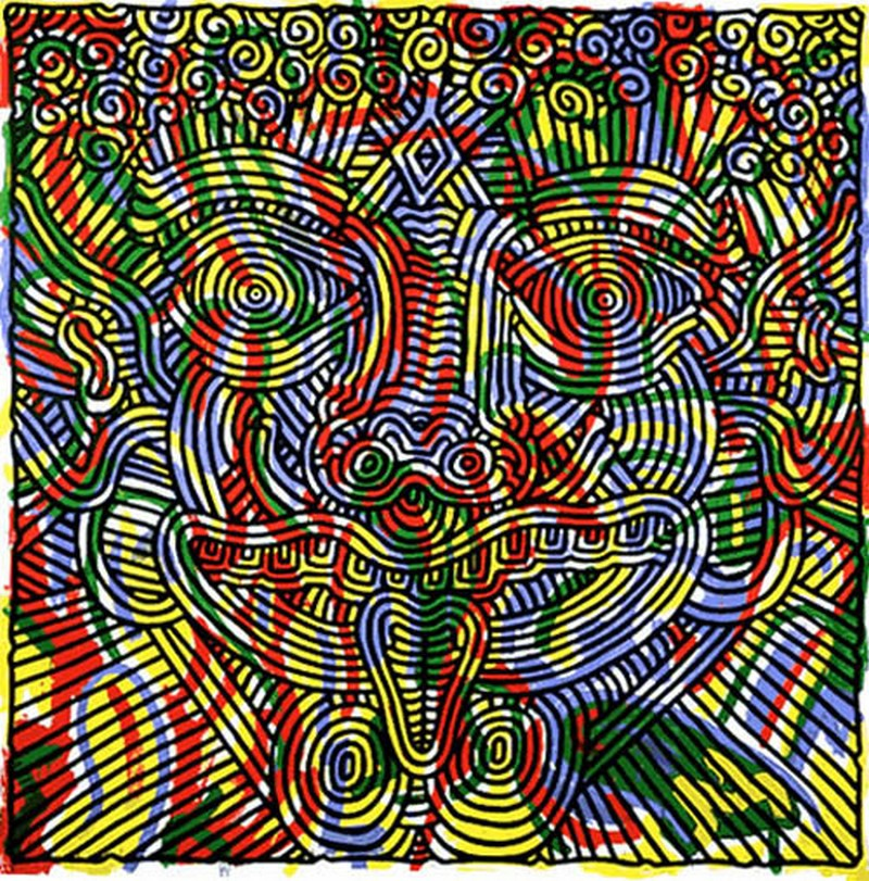 Keith Haring, Untitled (1986)