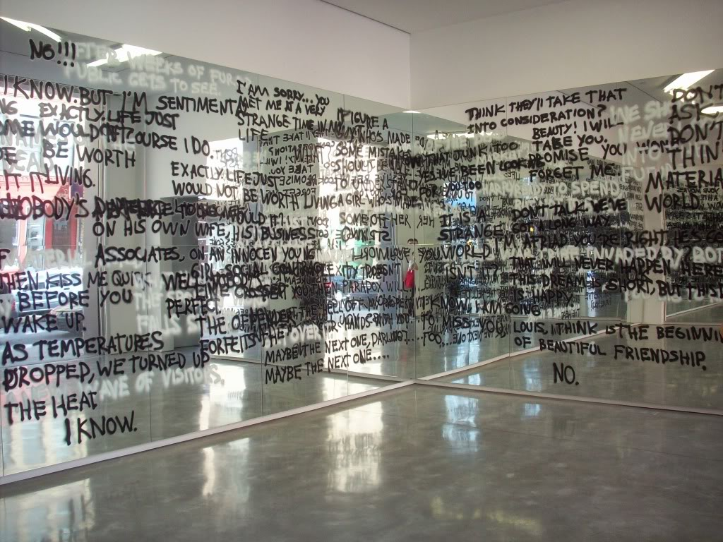 Stefan Bruggemann, Installation, Headlines and Last Line in the Movies, Yvon Lambert Gallery, NY (2010)