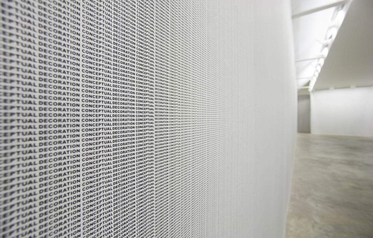 Stefan Bruggemann, Installation, United Technologies, Lismore Castle Arte, Cork (2009)