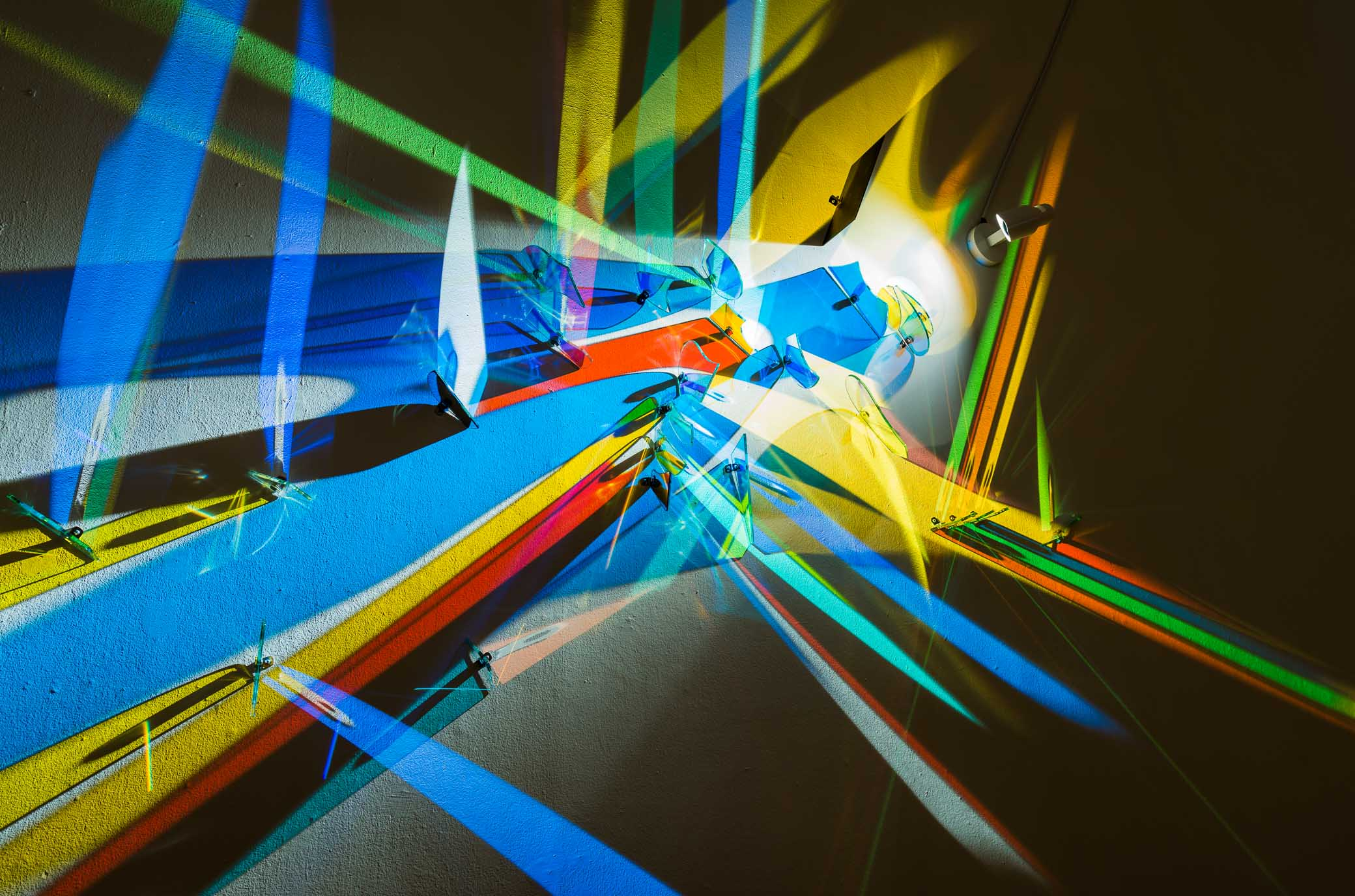 Stephen Knapp, Light painting, Polk Museum of Art