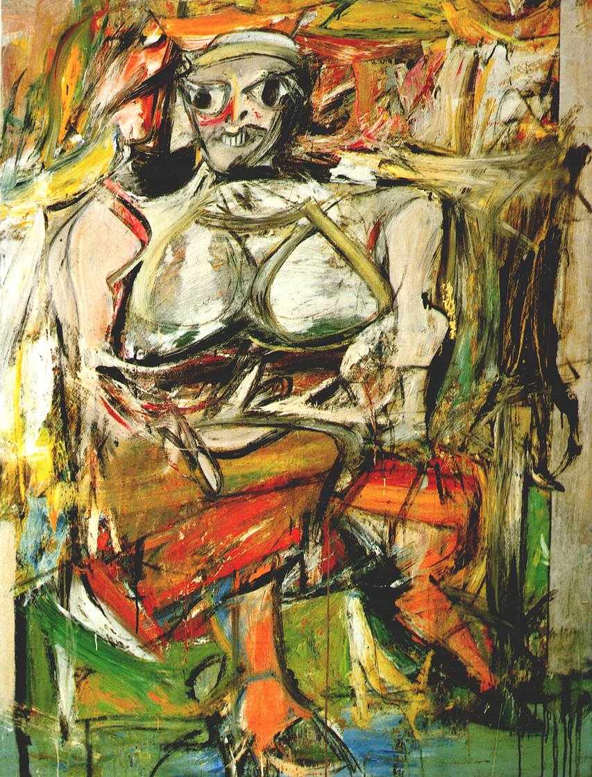 Willem De Kooning, Woman I (1950)