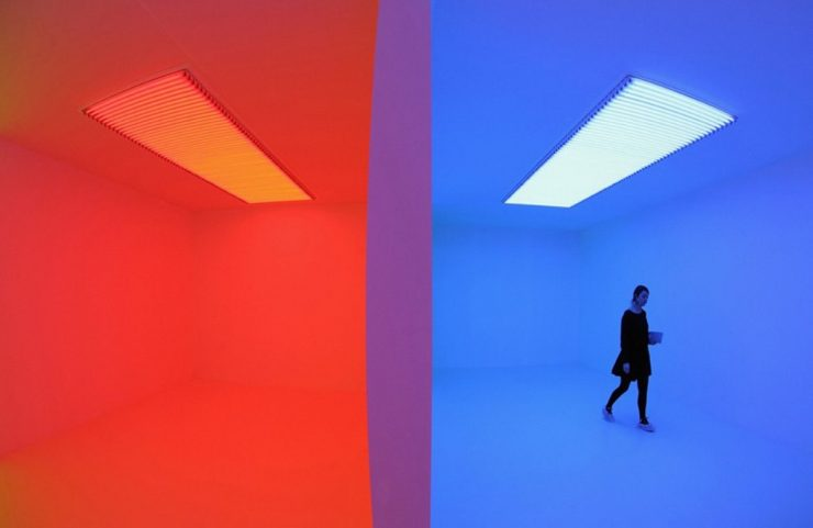 Carlos Cruz Diez, Chromosaturation, Hayward Gallery, Londra (2013)