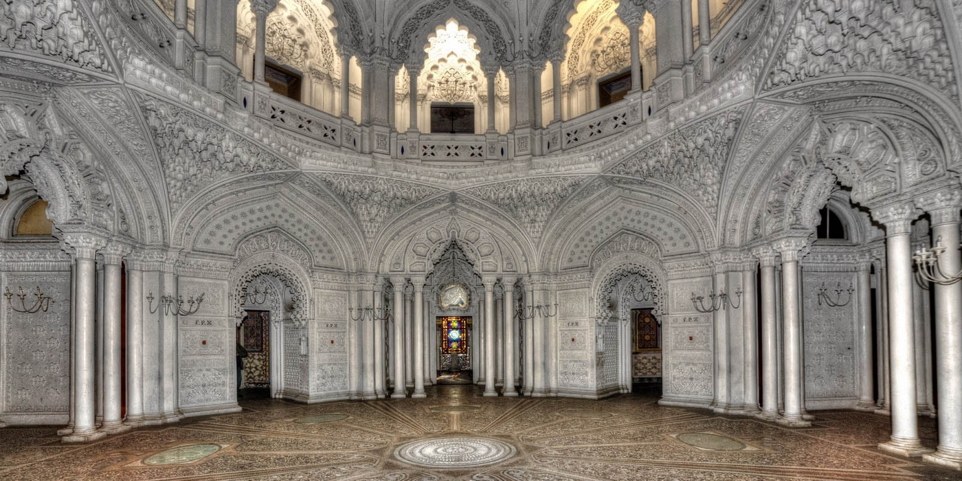 Castello di Sammezzano, Sala Bianca, Toscana (1843-1889)