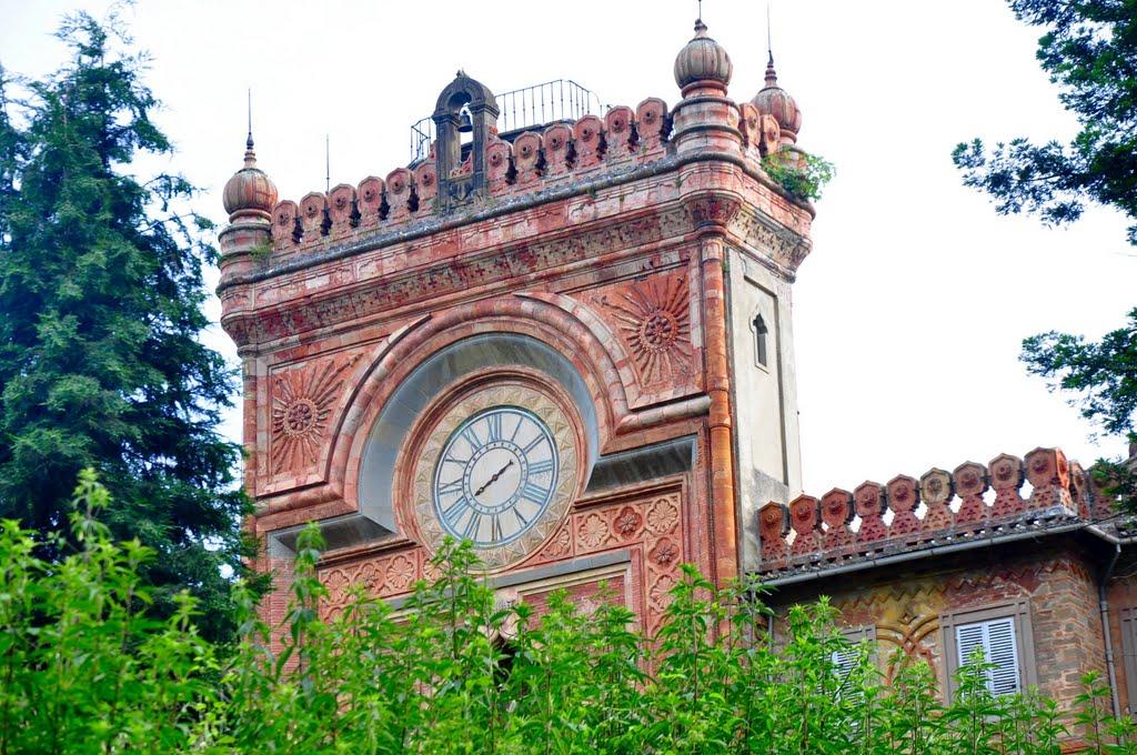 Castello di Sammezzano, Torre dell'orologio, Toscana (1843-1889)