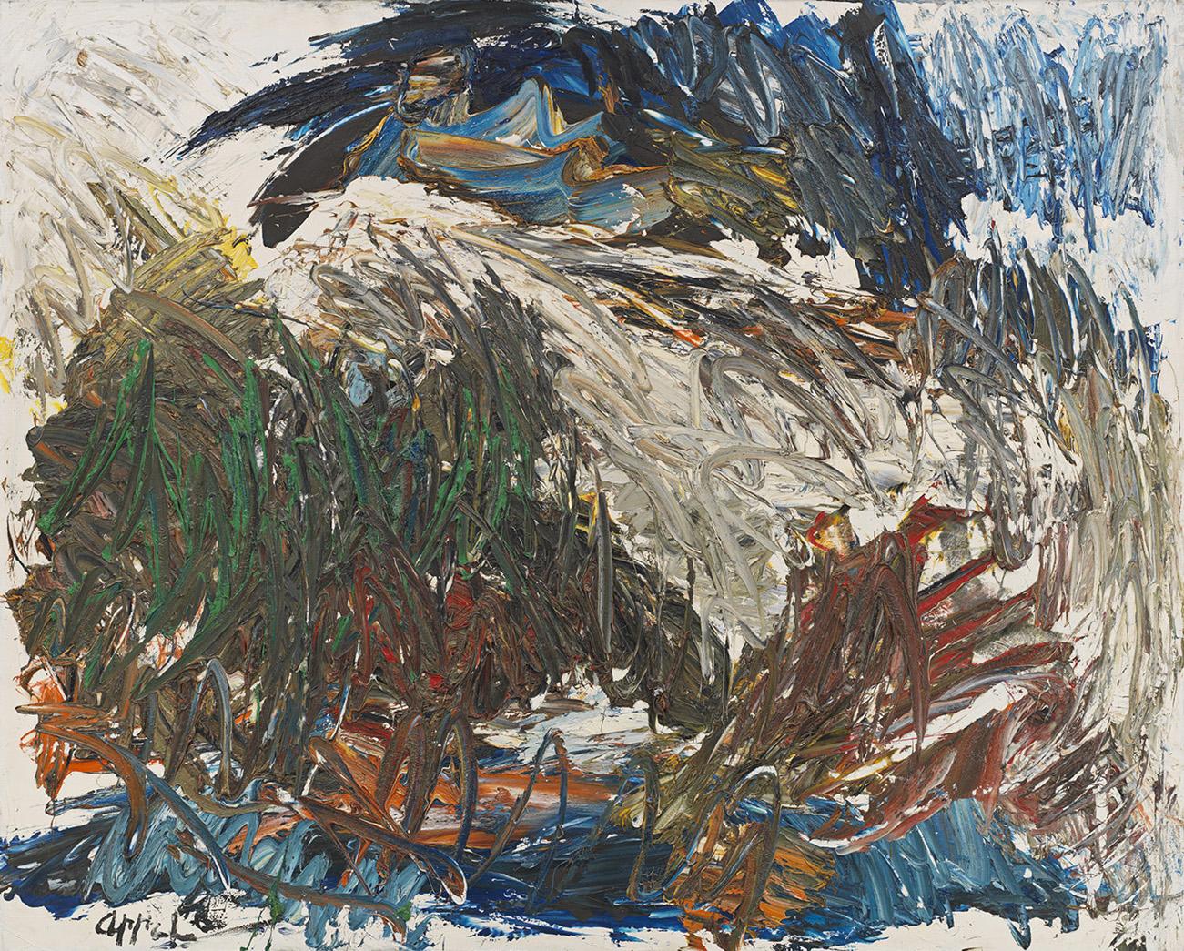 Karel Appel, Between Mud and Heaven (1962)