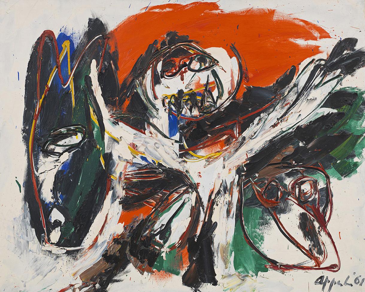 Karel Appel, Donkey (1961)