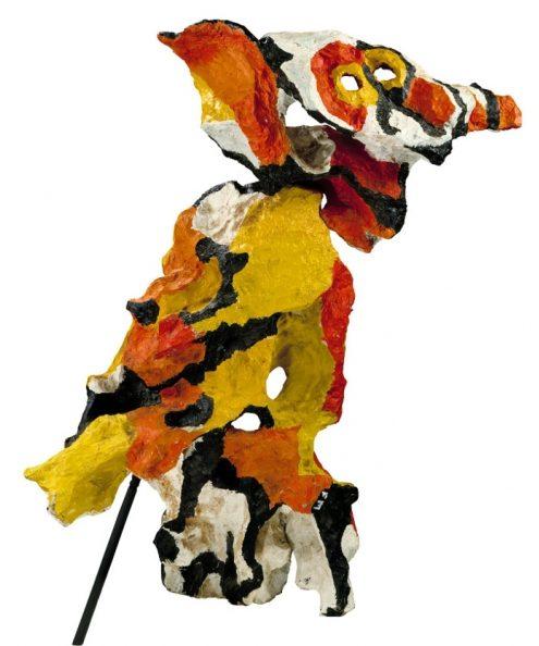 Karel Appel, L'Homme hibou n°1 (1960)