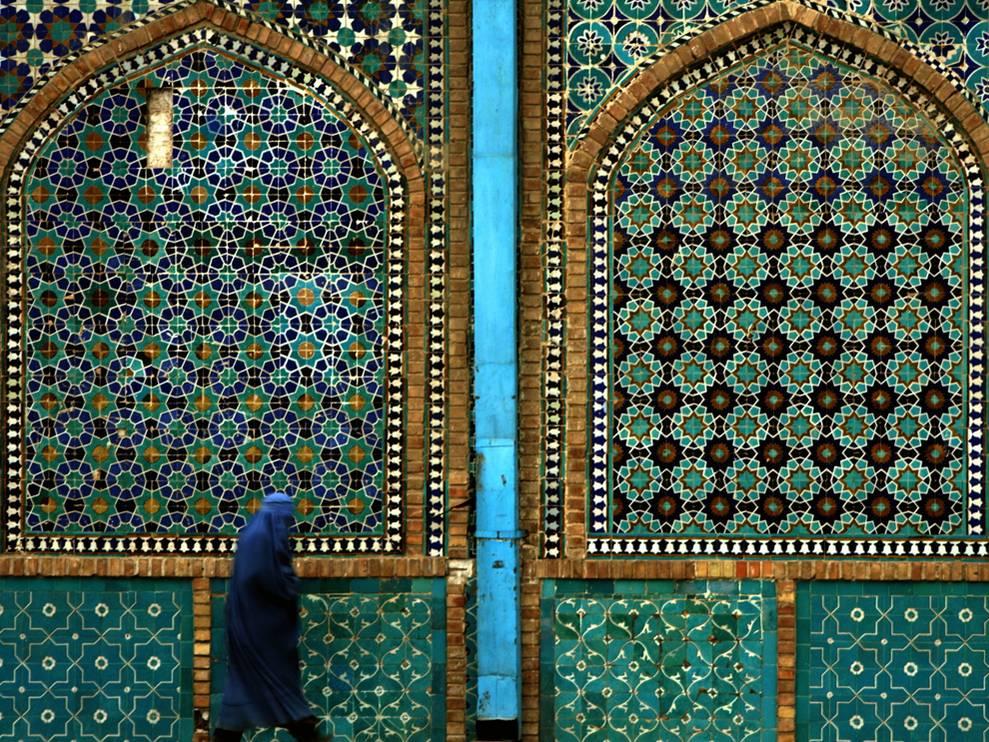 Moschea blu, Mazar-e-Sharif, Afghanistan