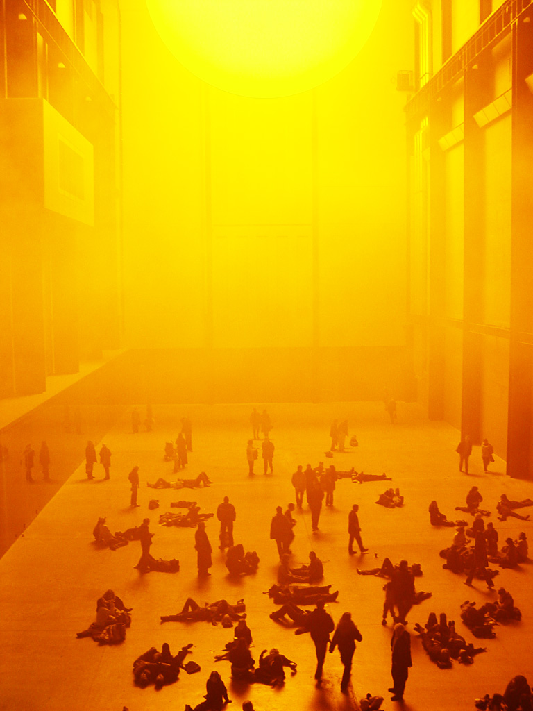 Olafur Eliasson, The Weather Project, Turbine Hall, Tate Modern, Londra (2003-2004)