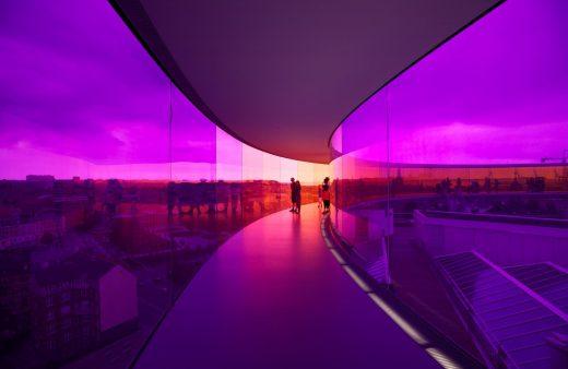 Olafur Eliasson, Your Rainbow Panorama, ARoS Aarhus Art Museum, Danimarca (2011)