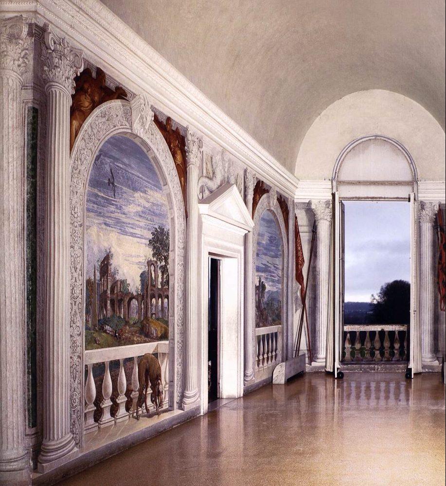 Paolo Veronese, Villa Barbaro, affreschi, Treviso (1561)