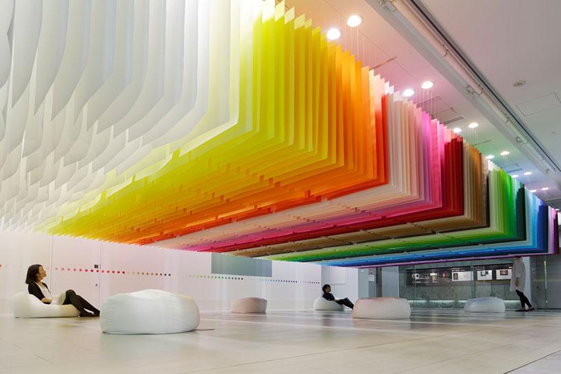 Emmanuelle Moureaux, 100 colors, Tokyo (2013)