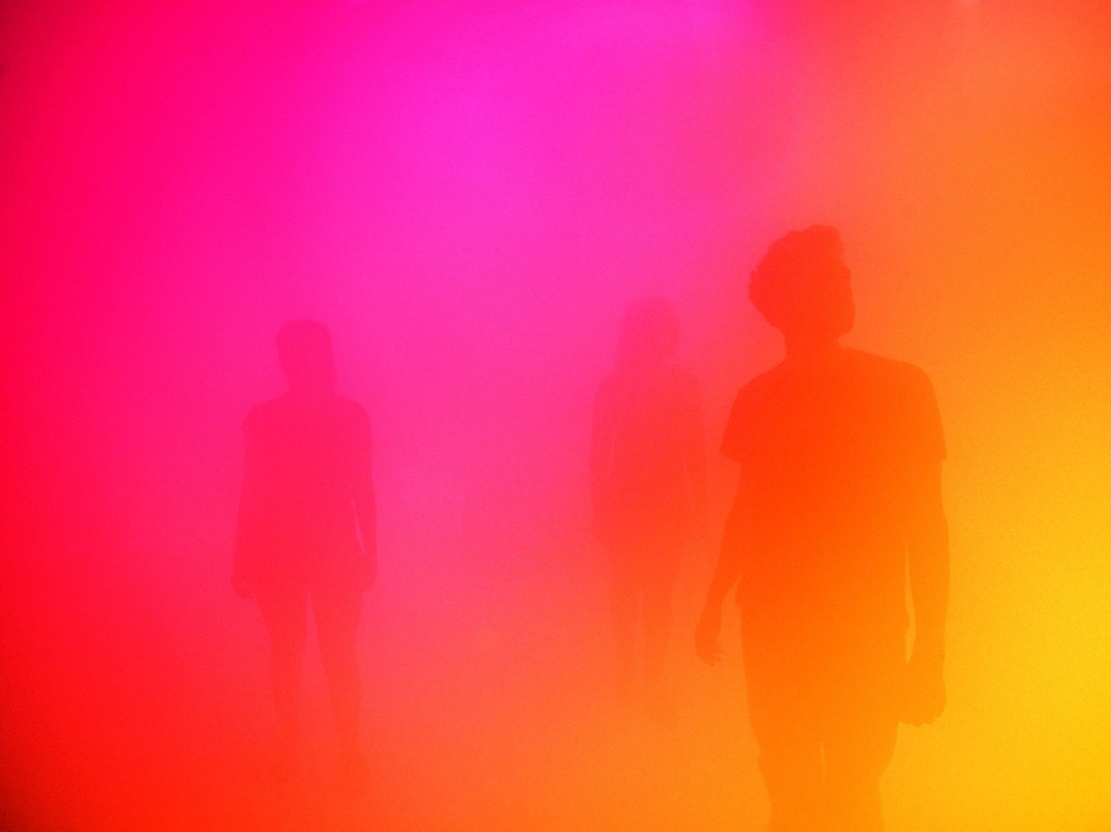 Ann Veronica Janssens, Blue, Red, Yellow, Nasher Sculpture Center, Dallas (2016)