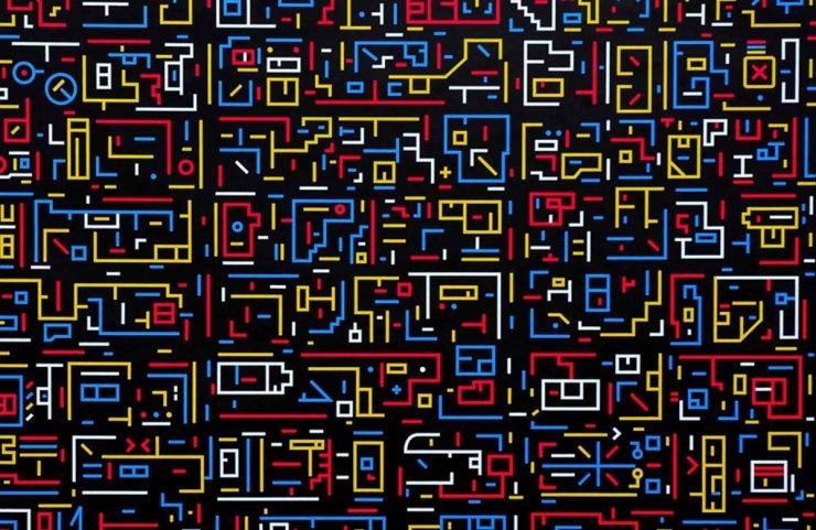 Lu Xinjian, New York, City DNA (2010)