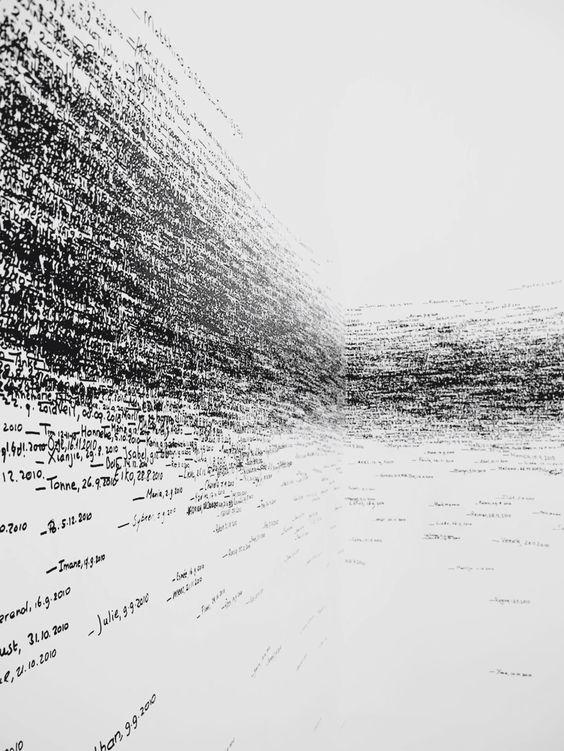 Roman Ondak, Measuring the Universe (2010)