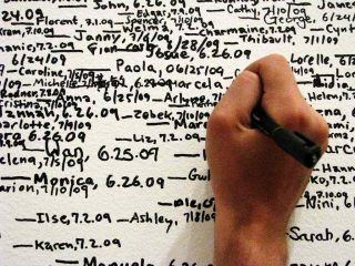 Roman Ondak, Measuring the Universe (2009)