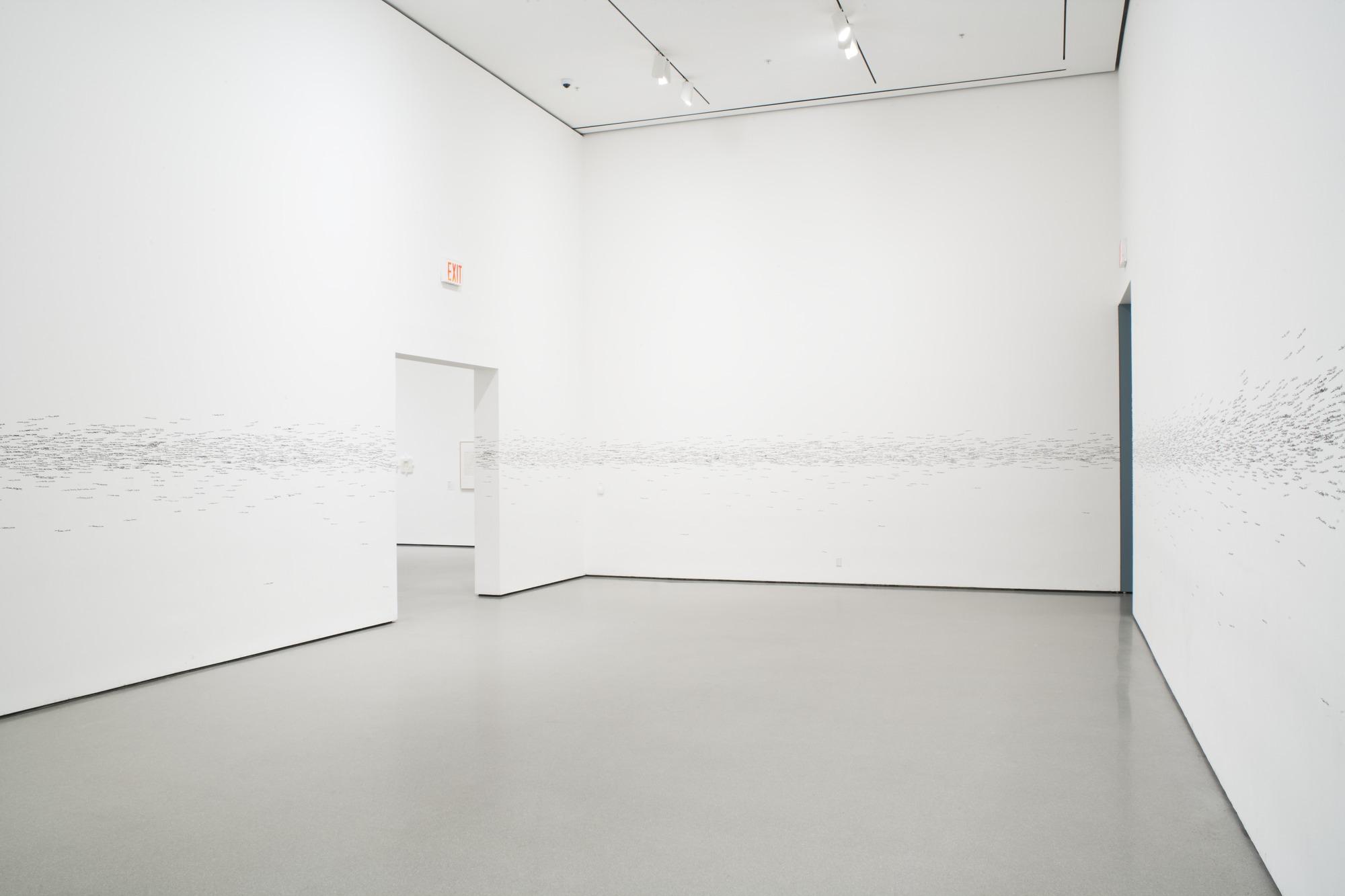 Roman Ondak, Measuring the Universe - prima, MoMA, New York (2007)